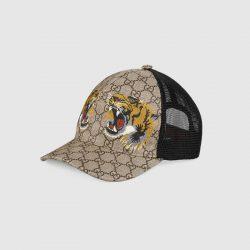 Tigers print GG Supreme baseball hat – Gucci Men's Hats & Gloves