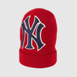 Wool hat with NY Yankees™ patch – Gucci Men's Hats & Gloves