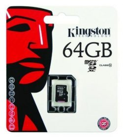 Buy Kingston 64GB Micro SDXC Class 10 UHS-I memory card Online in India with Best Price. – ...