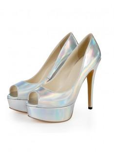 Plateforme Talon Mariage Chaussures SLSDN1479LF