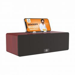 U&I Ui-BT-126 Turbo Series Wooden Wireless Speakers
