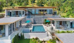 6 Bedroom Hillside Villa with Infinity Pool in Koh Samui, Thailand